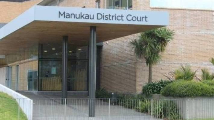 A sport star with name suppression has appeared at the Manukau District Court on drugs charges