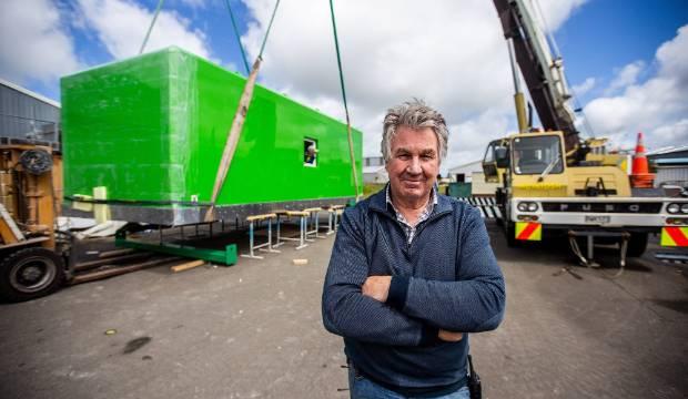 Feilding manufacture Fibreglass Developments builds Antarctic home away from home