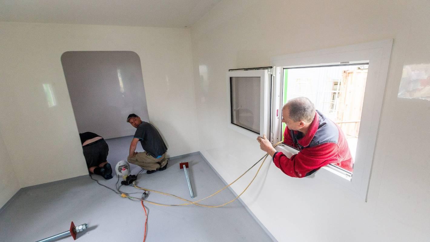 Manawatū manufacture Fibreglass Developments builds Antarctic home away from home