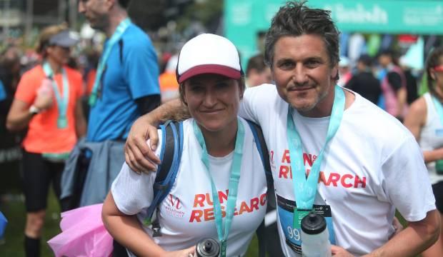 Matt Chisholm and young mum with cancer set Queenstown half marathon 'record'