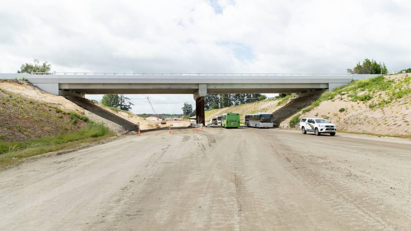 Open day draws punters to Hamilton section of Waikato Expressway - Stuff.co.nz