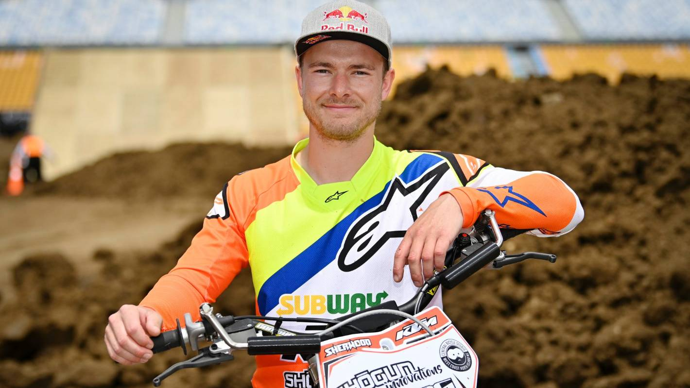 Motocross star Levi Sherwood signs off in style at S-X Open