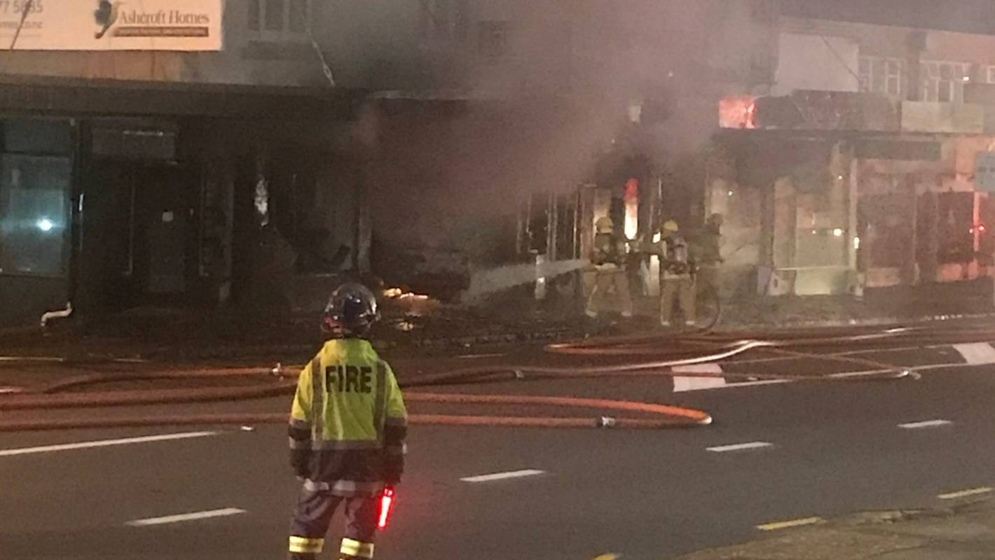 Auckland vape shop burns down after two deliberate fires 24 hours apart