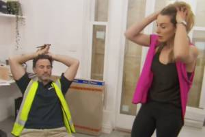 Living on a building site can be stressful, as all teams on The Block Australia have discovered.