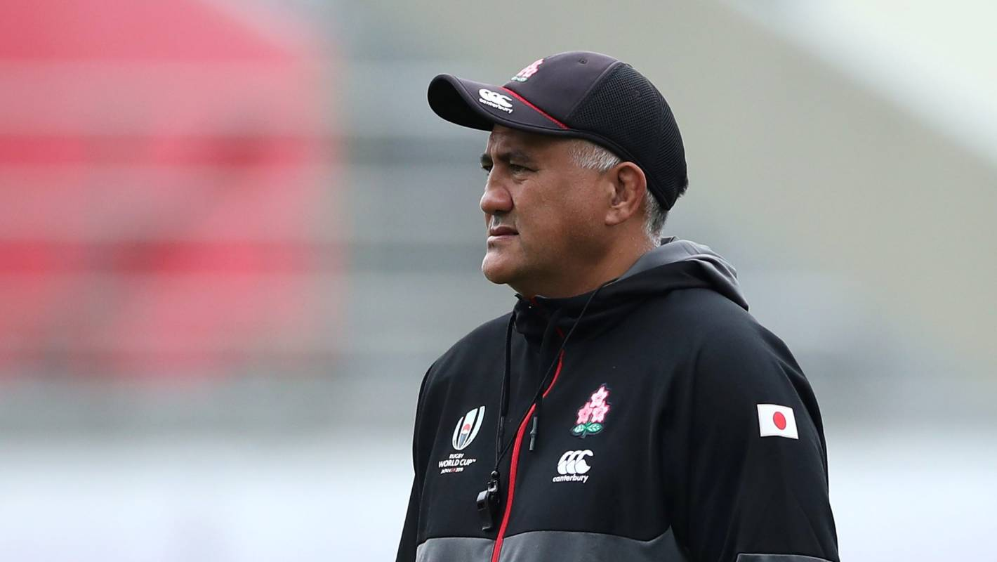 All Blacks: Jamie Joseph congratulated by NZ Rugby for sticking with Japan - Stuff.co.nz