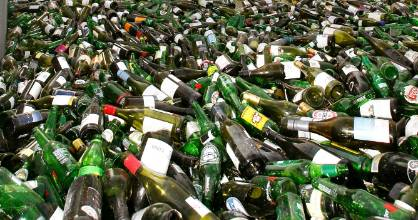 """The """"comprehensive recycling facility"""" at Havelock Marina will accept glass bottles and jars, plastic, cans, and paper ..."""