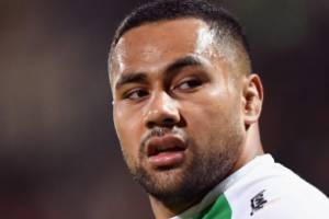Ngani Laumape played for his home province after missing out on All Blacks selection for the Rugby World Cup.
