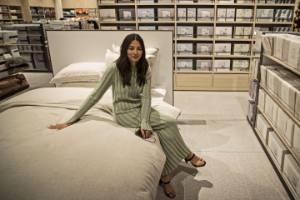 David Jones ambassador Jessica Gomez is in town for the Auckland store's big opening.
