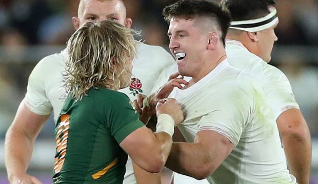 Springboks star Faf de Klerk's cheeky trick on English mate