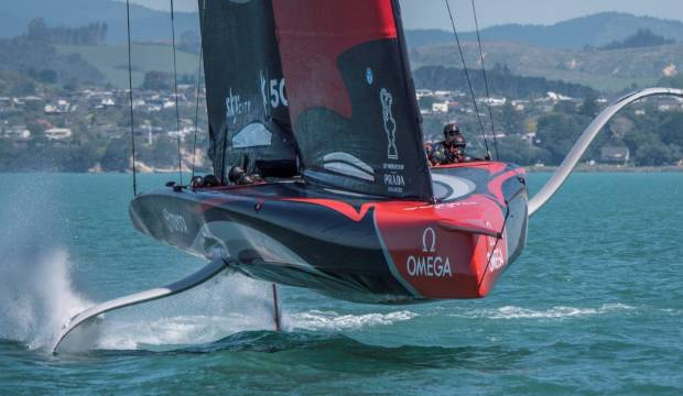 America's Cup: Team New Zealand's strong return to testing