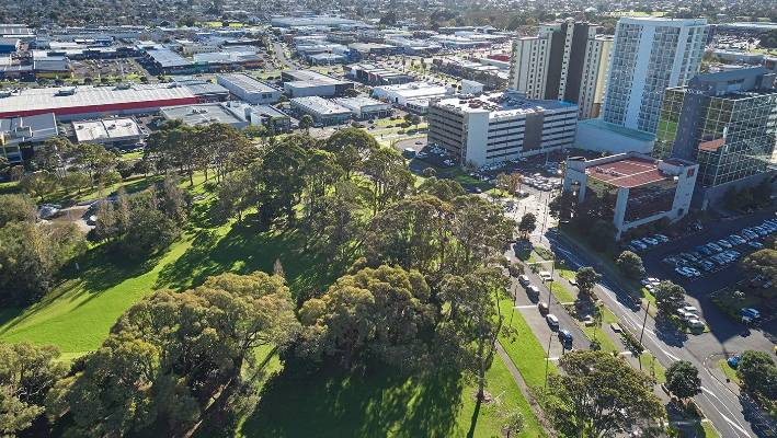 Transform Manukau project development director Clive Fuhr suggested housing developments could line the periphery of central Manukau green spaces like Hayman Park, pictured.