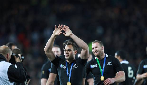 Israel Dagg's son Arlo melts his dad's heart with gorgeously proud All Black moment