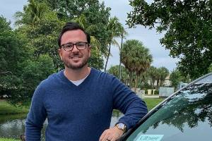 Clarke Bowman is a rideshare driver in South Florida.