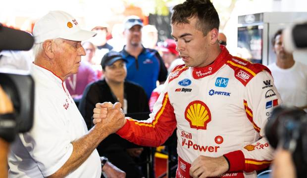 Jealous guys try to spoil NZ's Scott McLaughlin's Supercars party