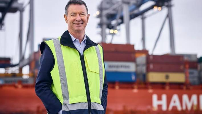 Ports of Auckland CEO Tony Gibson