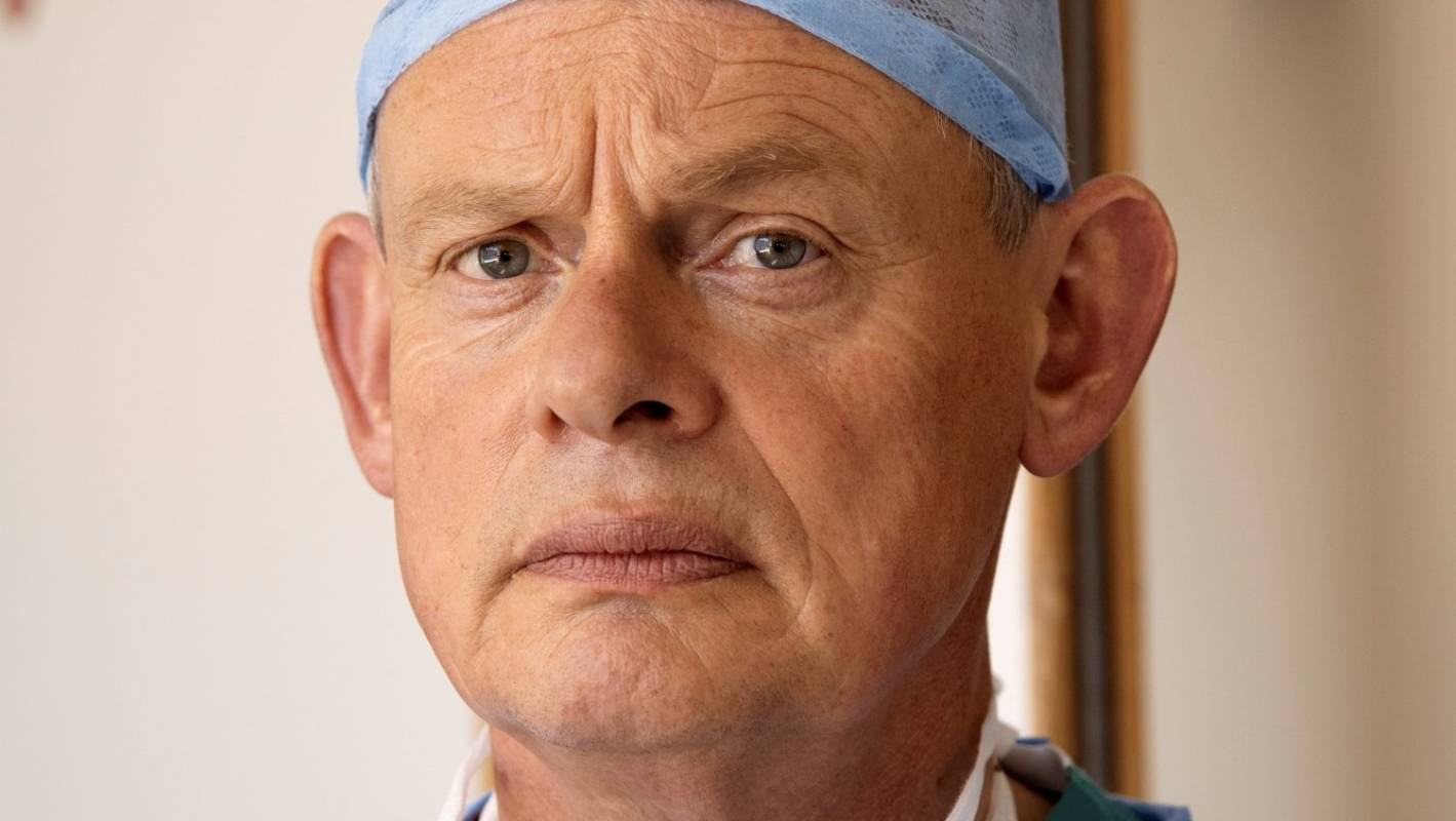 Catherine Catz doc martin star martin clunes talks about the series' top