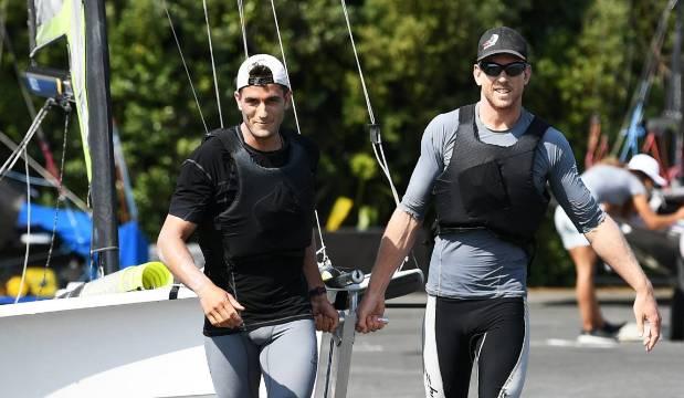 How yachting superstars Peter Burling and Blair Tuke stay sharp