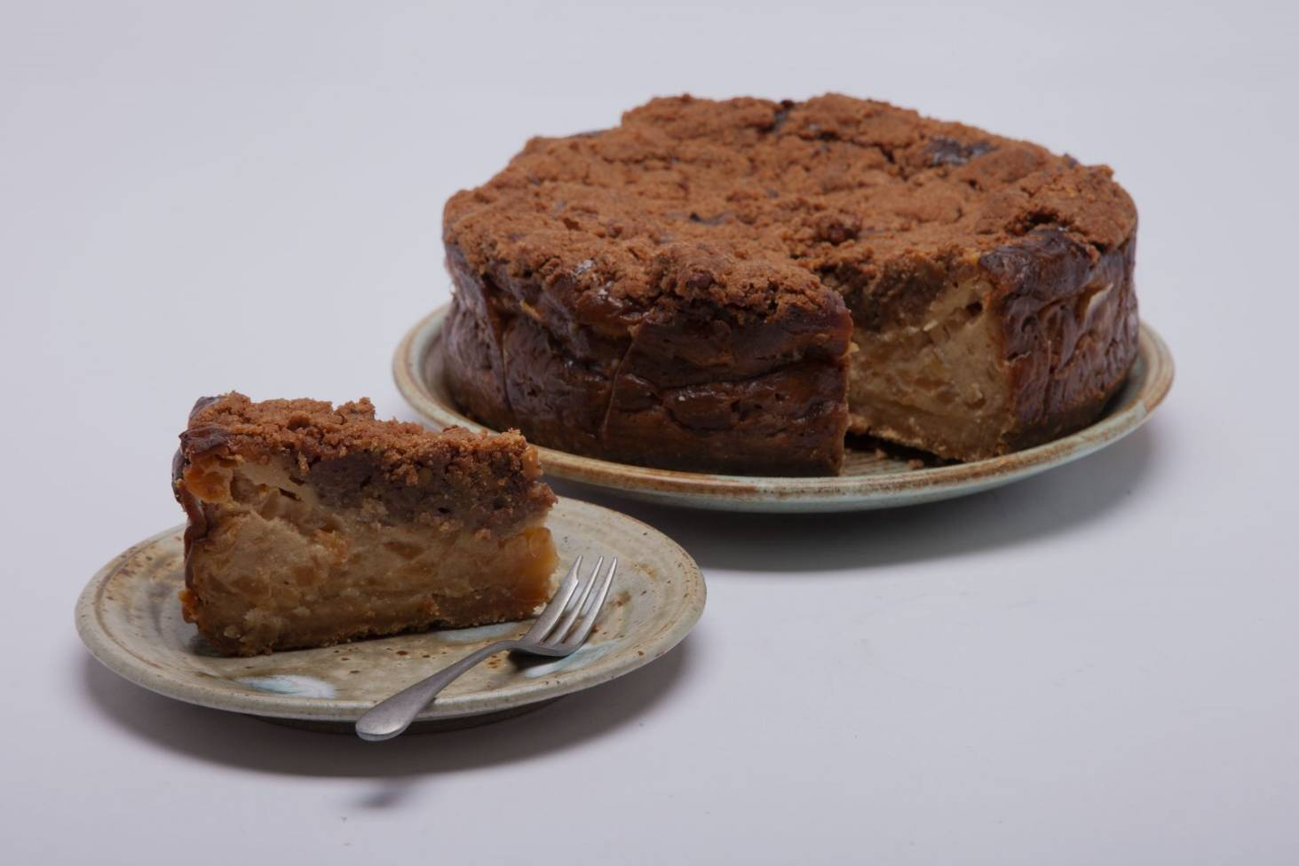Recipe Sour Cream and Apple Cake from Taupo\u0027s Replete Cafe