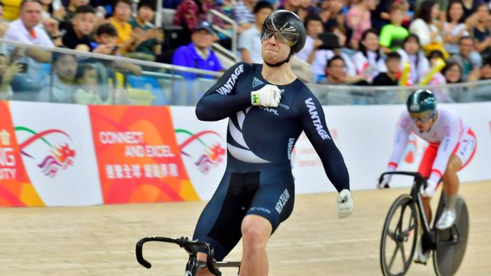 Kiwis claim two golds and a silver on third day of UCI Track