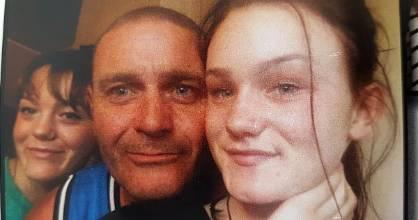 Jason Alexander lost both his teenage daughters Tayla, 17, (left) and Sunmara Alexander, 15, following a crash on Summit ...