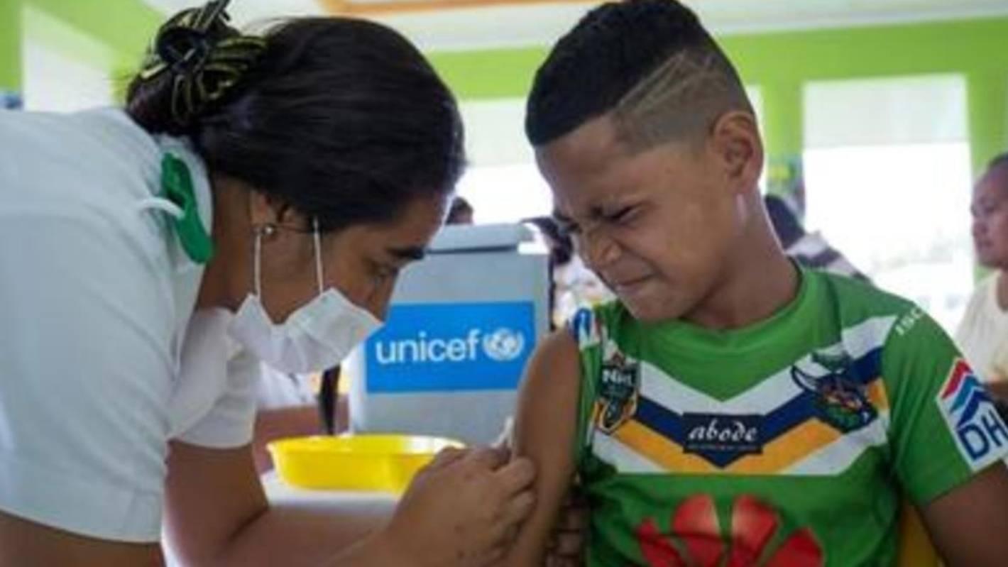 Nervous wait for Samoa after mass measles vaccination effort
