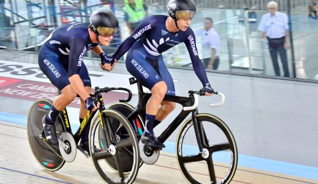 New Zealand finish UCI Track Cycling World Cup in Cambridge with eight medals