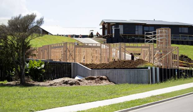 Builders busy in New Plymouth with consents rising