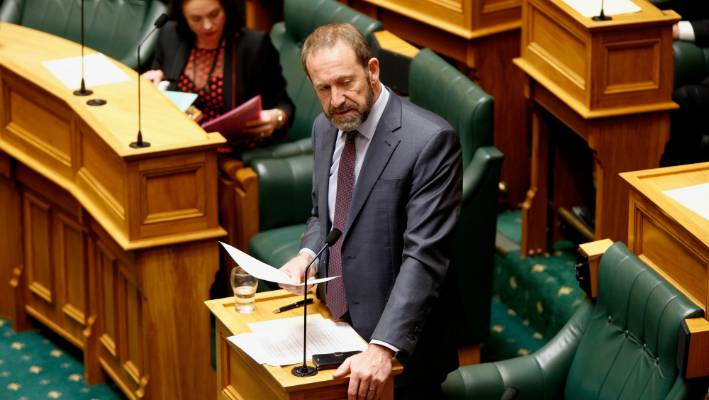 Justice Minister Andrew Little said control orders were needed to alleviate the risk of people like 'Kiwi jihadi' Mark Taylor, if he returned to New Zealand. It was unfortunate that on matters of national security, the National Party thought it was ok to get into rhetoric and puff out their chest, he said.