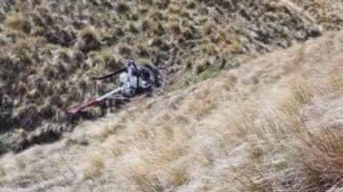 Two survive helicopter crash in Hawkdun Range near Otematata