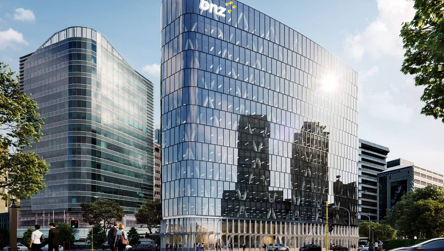 Base-isolated and Green star building to be developed for the BNZ HQ in Wellington | Stuff.co.nz