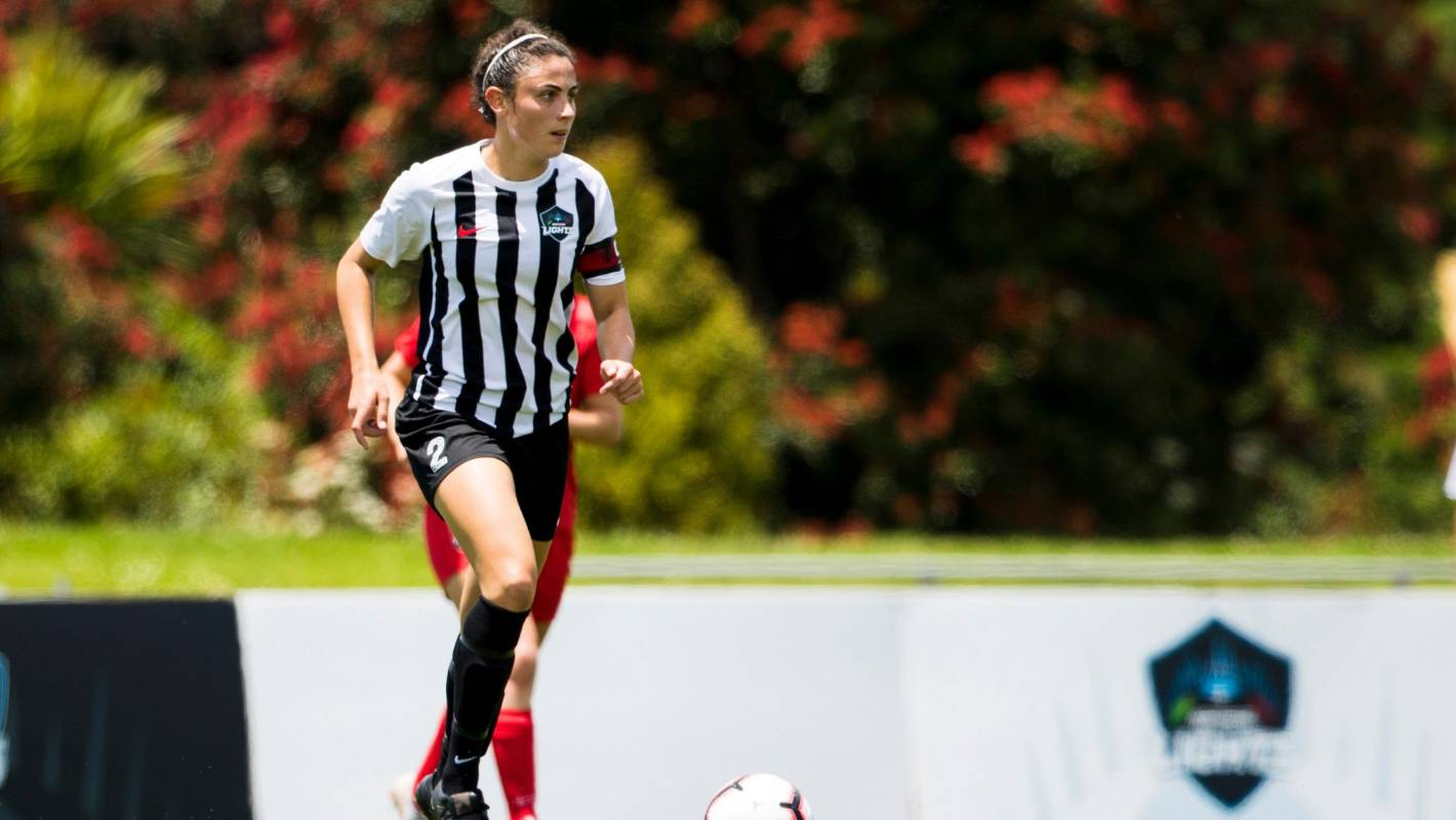 Newly-capped Football Fern Claudia Bunge says home World Cup would be incredible