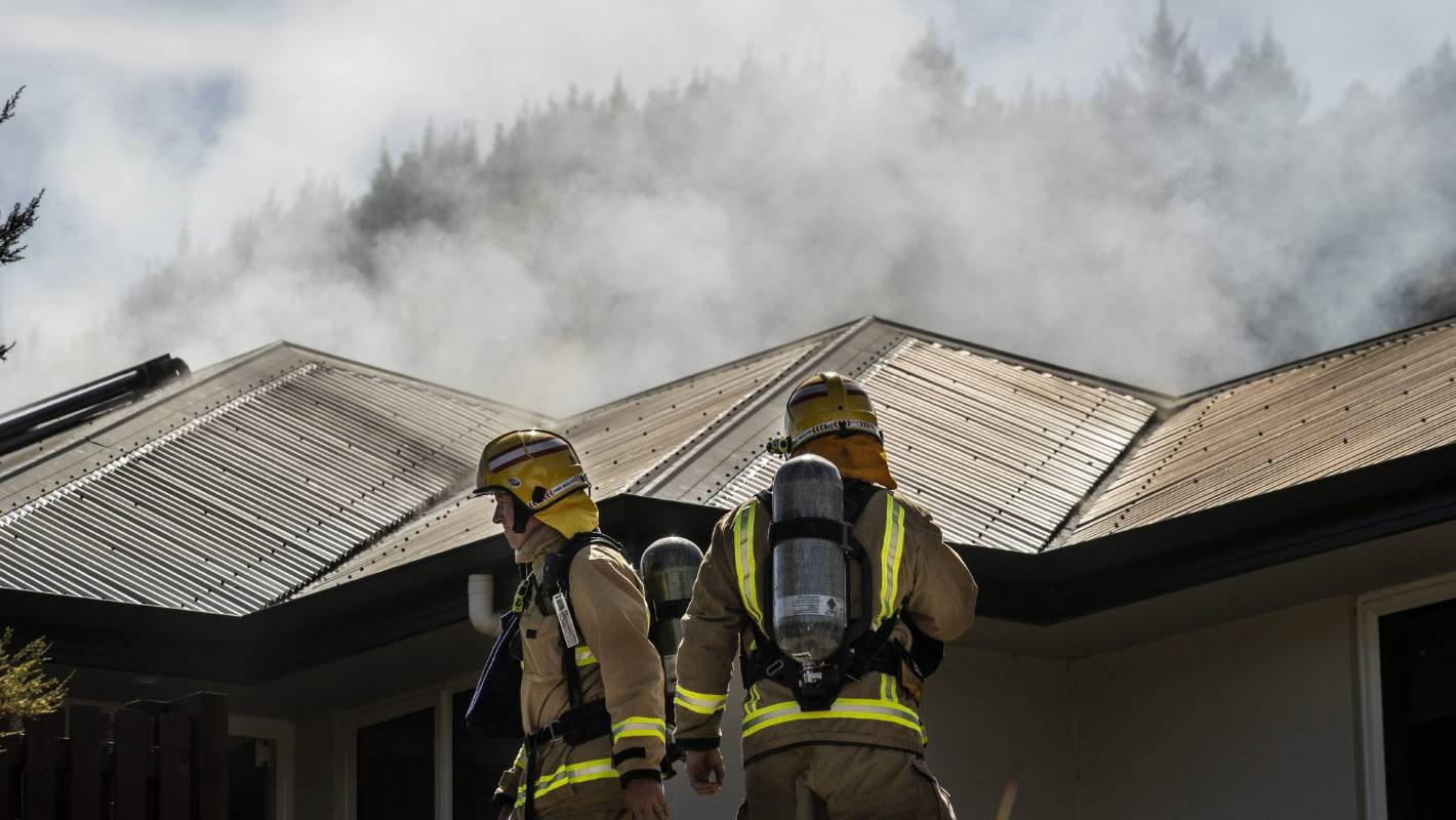 Residents escape Nelson South house fire unharmed
