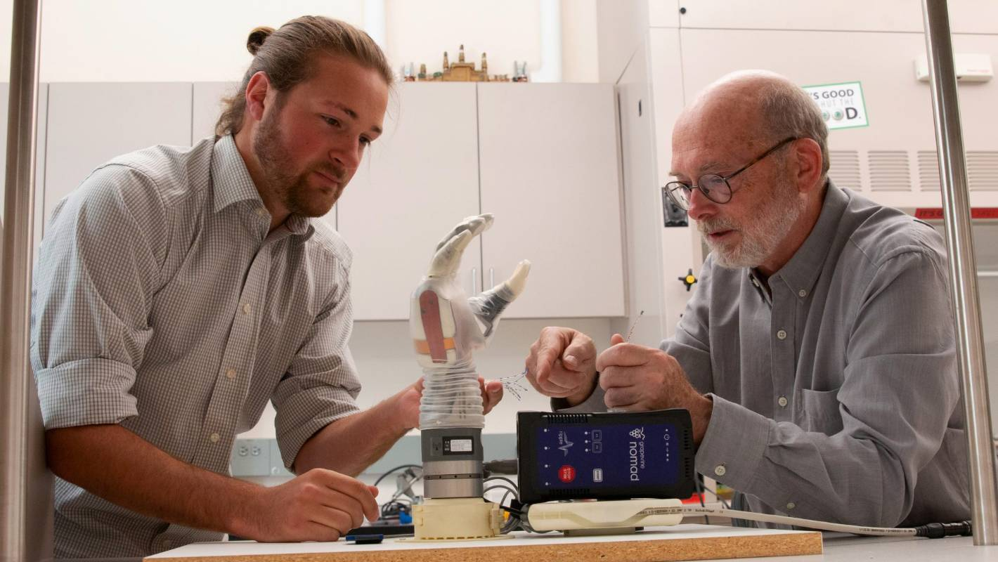 Touching moments in prosthetics: New bionic limbs that can 'feel'