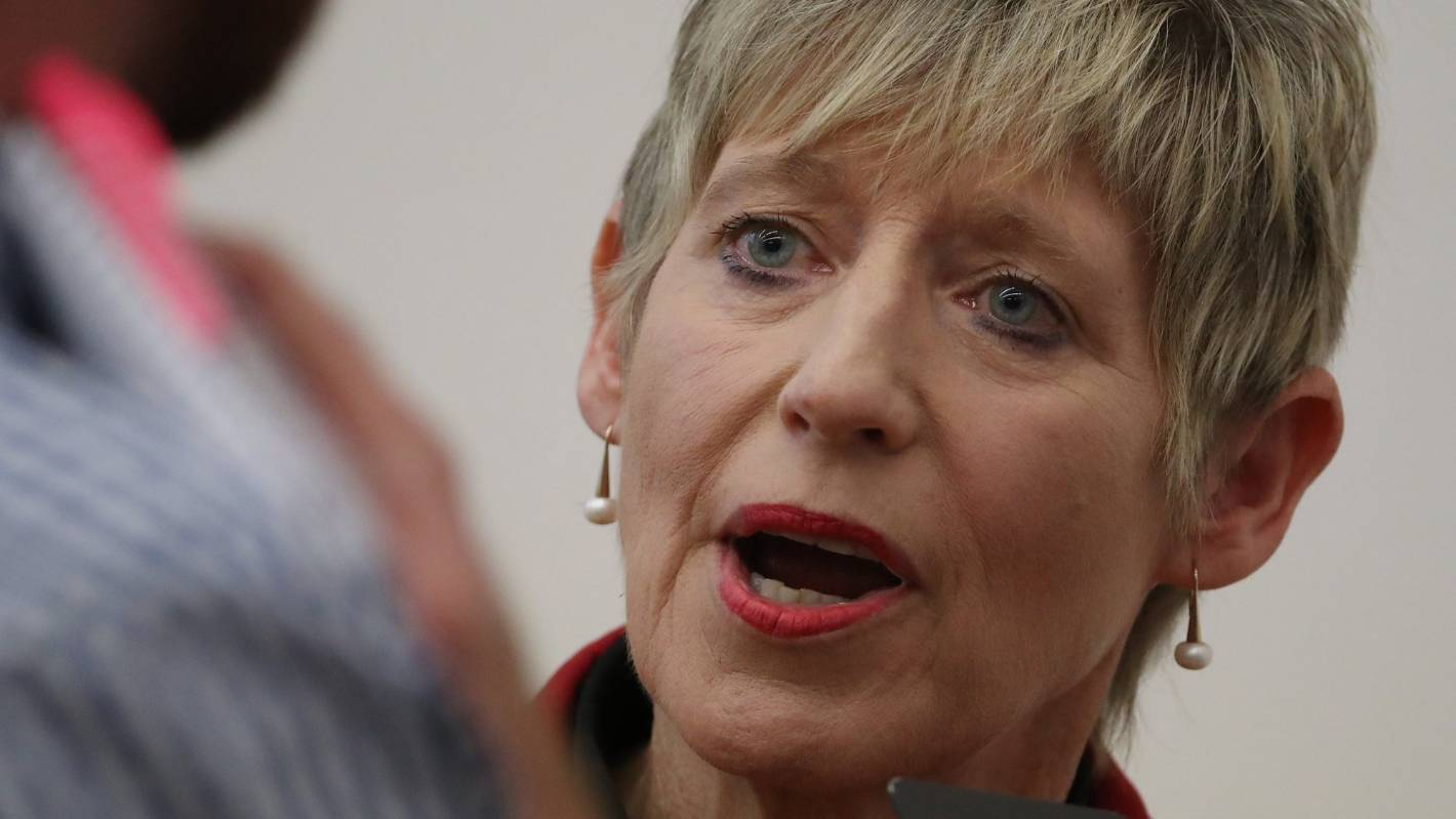 Christchurch mayor Lianne Dalziel initially listed her husband as the sole donor at a fundraising dinner and auction held in July.
