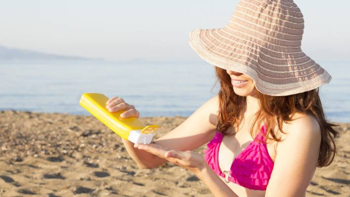 People with fair skin need less time in the sun to get their dose of vitamin D than those who have darker skin (file photo).