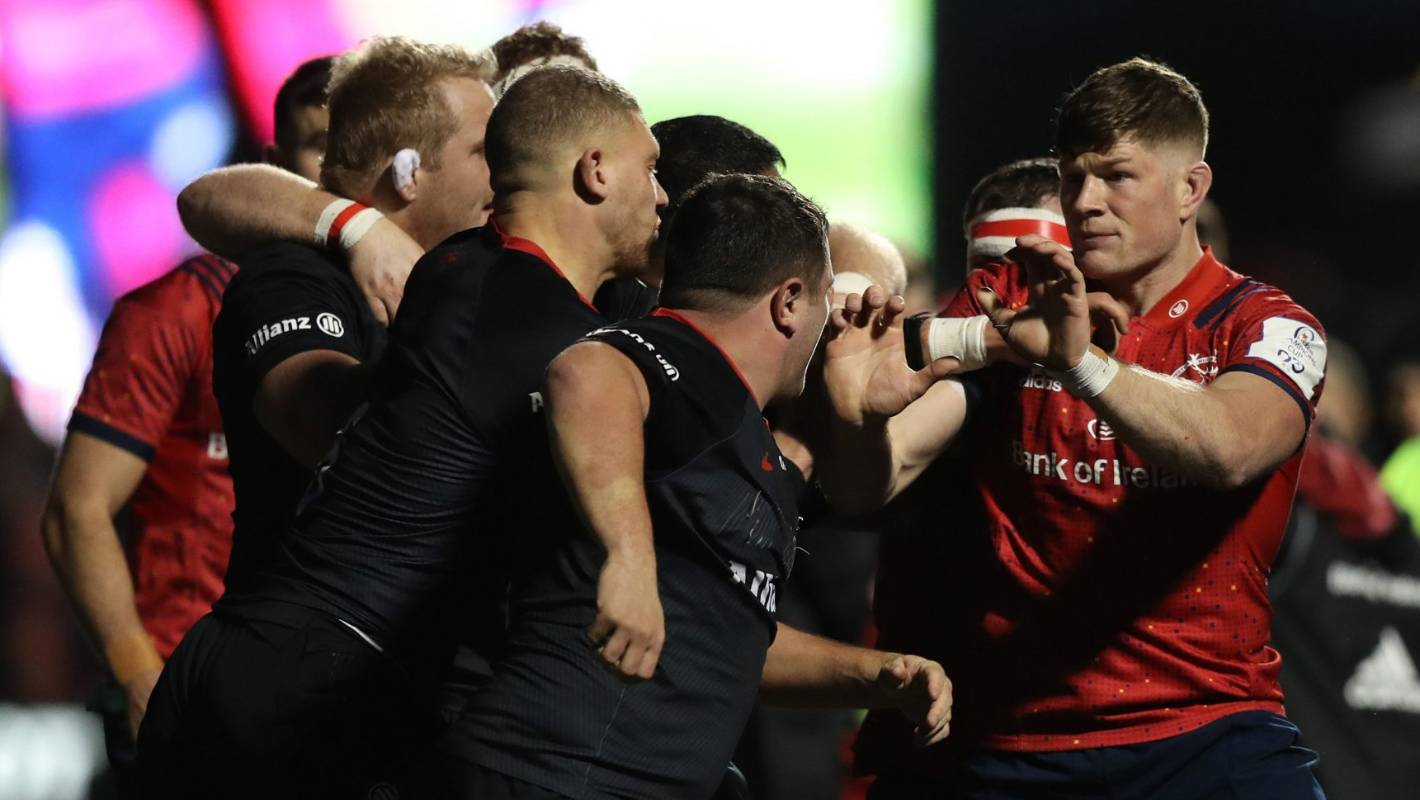 Munster doctor charged after alleged jibe over England hooker Jamie George's weight - Stuff.co.nz