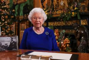 The Queen's Christmas message is one time we get a peek at the inside of Buckingham Palace. Now, the royal household has ...
