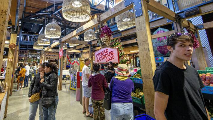 Attractions such as Riverside Market are making the central city more attractive.