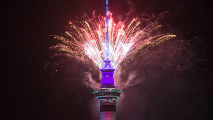 Auckland is the first major city in the world to celebrate each New Year.