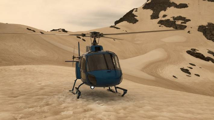 """The """"caramelised"""" snow at Franz Josef is caused by smoke from the Australian bushfires."""