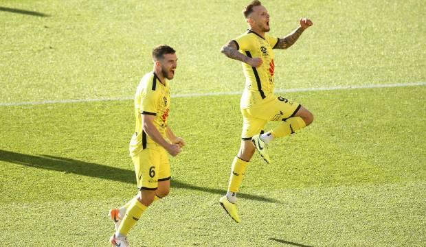 Hip injury to key striker David Ball sours Wellington Phoenix win