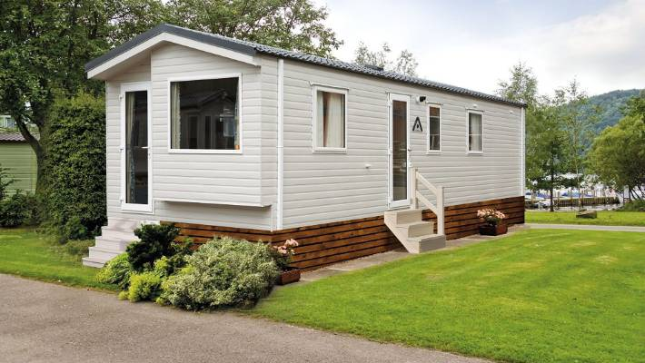 The three-bedroom, two-bathroom static caravans are being manufactured in the UK and will arrive in Nelson mid-year.