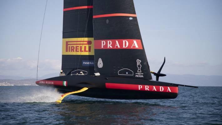 Luna Rossa have made modifications to their AC75 to allow them to resume training during the coronavirus pandemic.