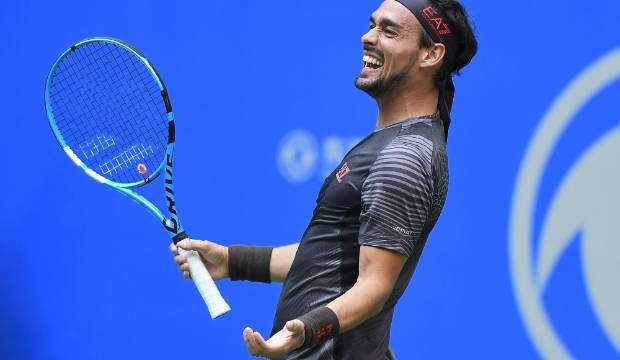 Carefree and happy, Fabio Fognini out to have fun at ASB Classic