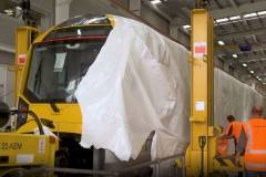 Unwrapping Auckland's new trains