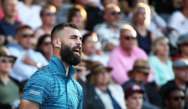 ASB Classic: Benoit Paire pulls off comeback win to reach semifinals