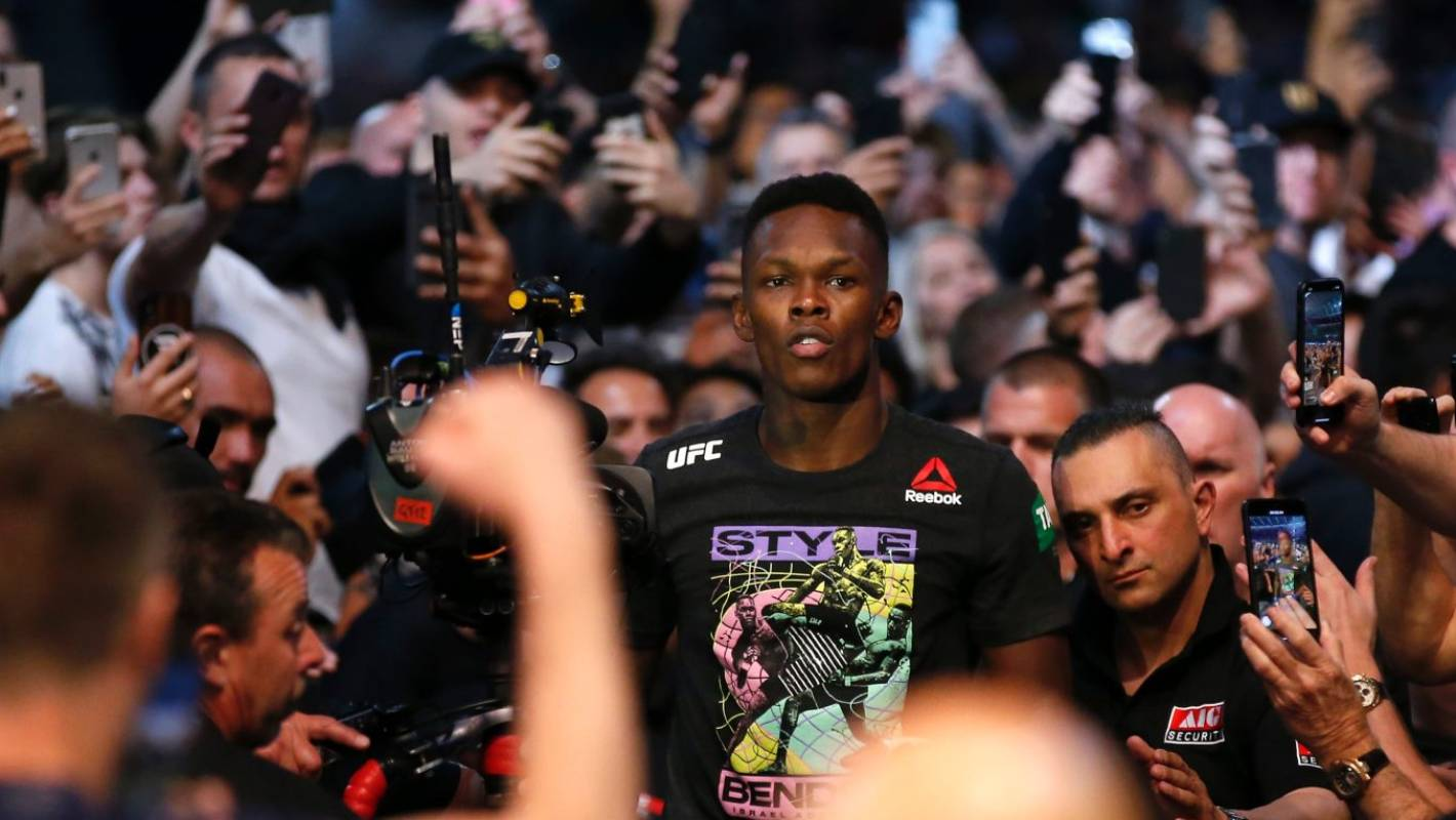 UFC: Israel Adesanya's first defence of UFC title confirmed
