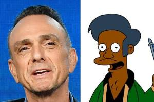 Hank Azaria says voicing The Simpsons' Apu 'just didn't feel right'.