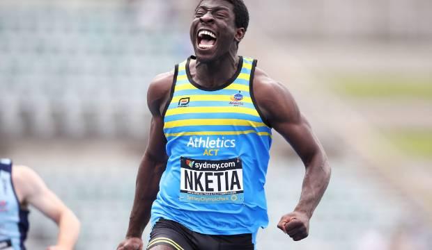 Edward Osei-Nketia wins 100 metres at Cooks Classic but falls short of dad's record