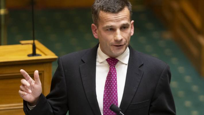 ACT MP David Seymour has championed the End of Life Choice Bill.